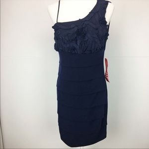 Enfocus Studio Navy Dress - NWT